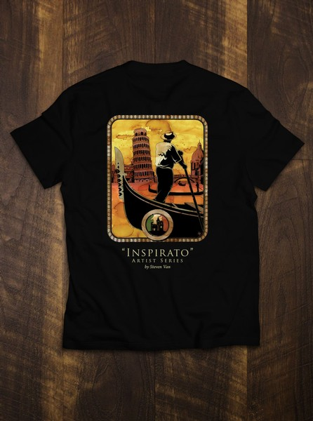 Men's Artist Series T-Shirt - Beyond the Sunset